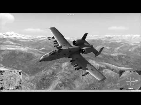 Digital Combat Simulator Gameplay A10C