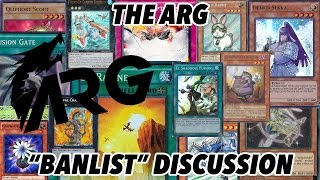 """The ARG """"Banlist"""" Discussion"""