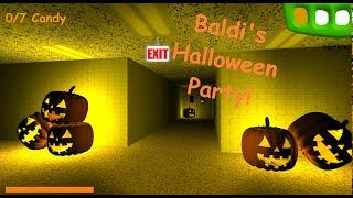 Baldi's Basics (Decompiled Edition) Halloween Version!   Baldi's Basics Mod!