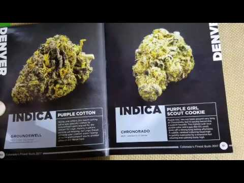 Colorado's Finest Buds Buyers Guide 2017 - Indica