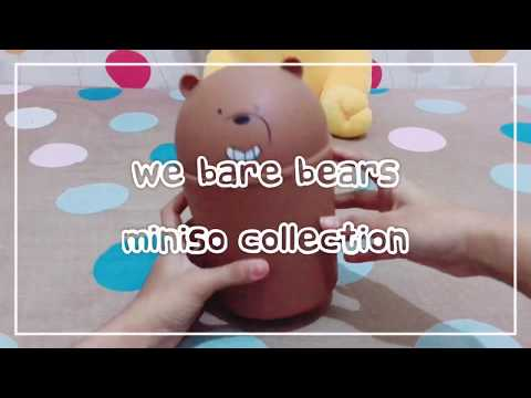 We Bare Bears Miniso Collection Grizzly Ver.