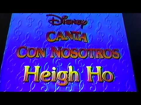 Disney's Sing Along Songs - Heigh-Ho (Snow White) [1987] English French Spanish Intro End Credits