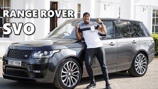 Bespoke Range Rover SVO for Anthony Joshua