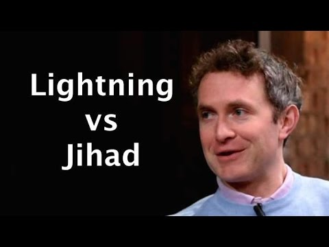 "Douglas Murray's PERFECT response to ""more people killed by lightning"" argument"
