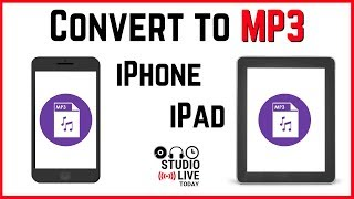 How to convert audio to MP3 on iPhone/iPad