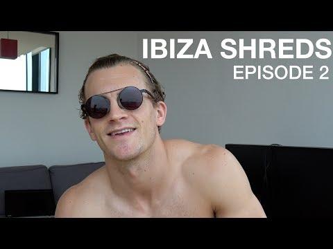 Ibiza Prep Ep 2: Full Training Routine, Leg Day Walkthrough & Flat Party