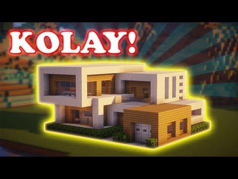 Minecraft Modern Ev Yapımı No:05