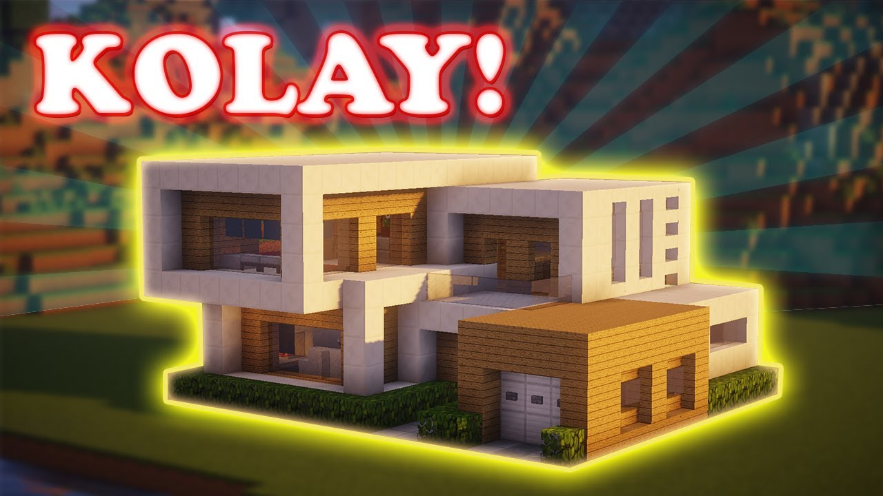Minecraft How to Build Modern House Tutorial No05  YouTube