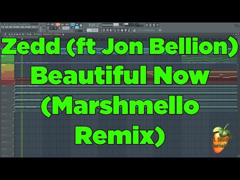 Zedd - Beautiful Now (Marshmello Remix) FL Studio Remake + FLP DOWNLOAD