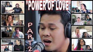 """""""POWER OF LOVE"""" PART 2 REACTORS REACTION COMPILATION/MARCELI..."""