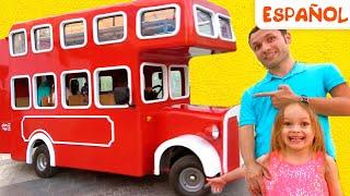 Maya y Mary | Cancion Infantil - Las ruedas del autobús