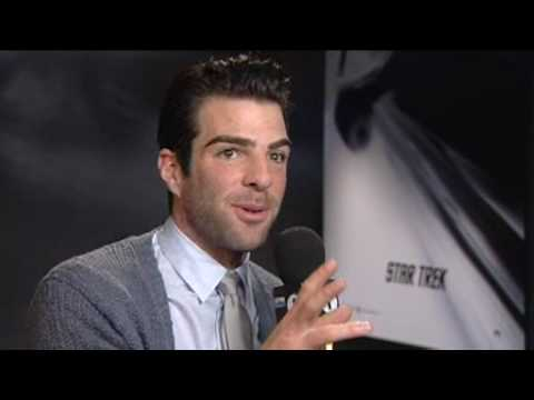 bbc radio 1 interview:  zachary quinto