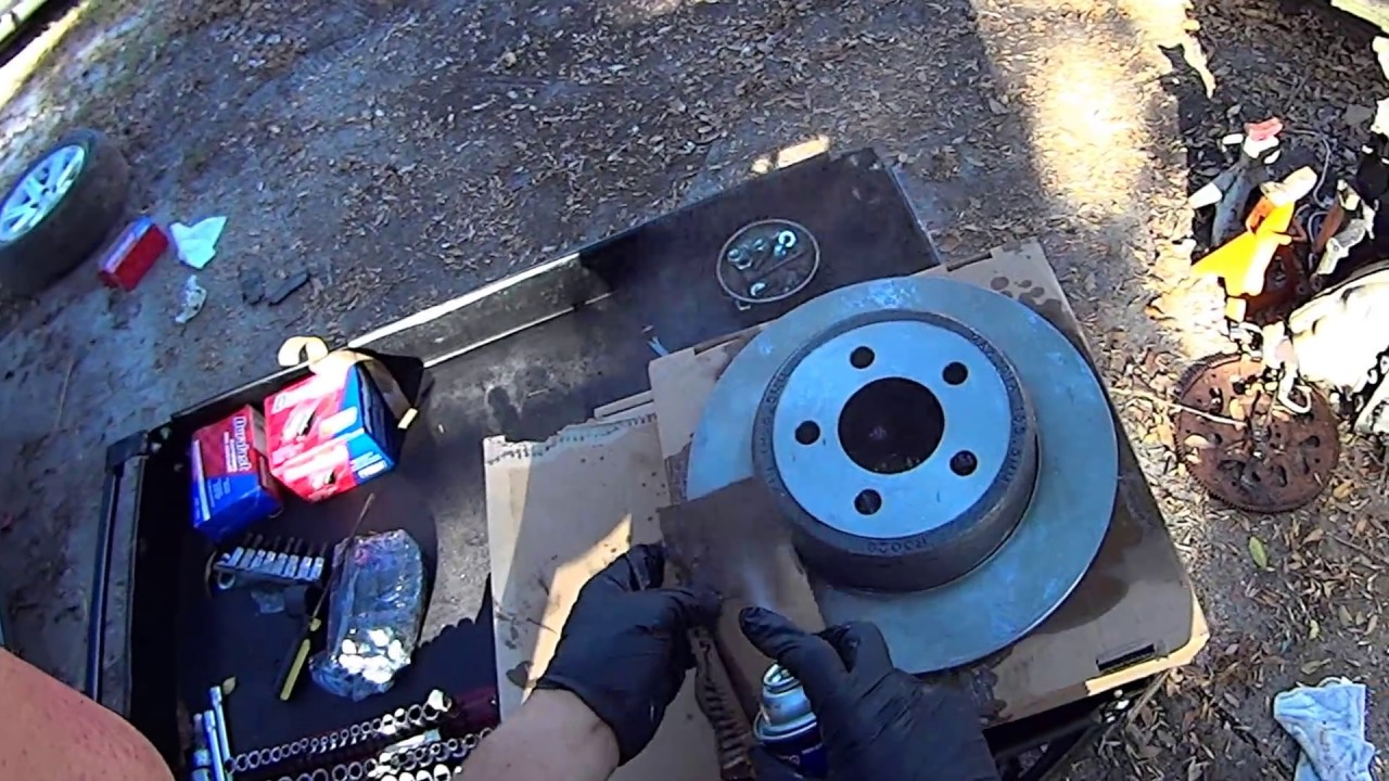 When To Replace Brake Pads >> How To Replace Rear Brake Pads and Rotors on Chrysler 300 ...