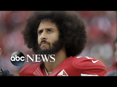 Rally at NFL headquarters to support Colin Kaepernick