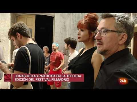 Entrevista a Jonas Mekas - Cultura en 24 Horas - www.sanchezreinaldo.com
