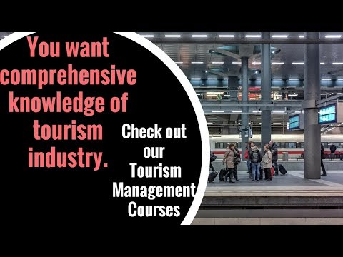 Travel and Tourism Course Online | Diploma in Travel and Tourism