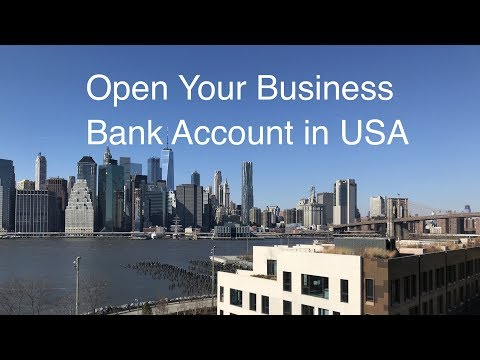 Open Your Business Bank Account in USA