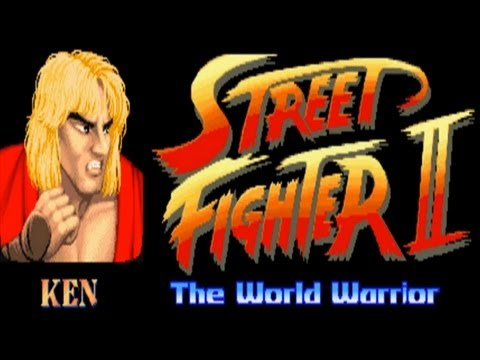 Street Fighter II - The World Warrior - Ken (Arcade)
