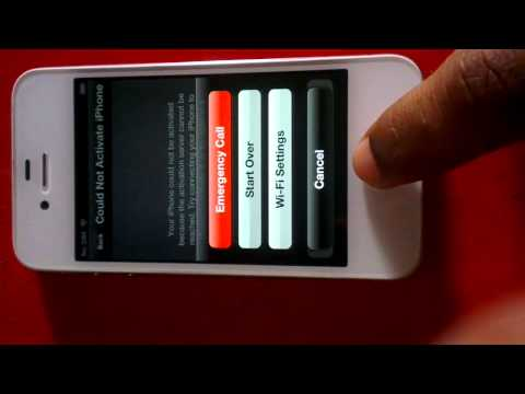 ACTIVATE IPHONE 4S  WITHOUT SIMCARD