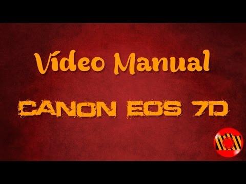 Vídeo manual - Canon EOS 7D (Português BR)