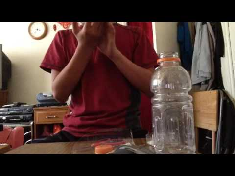 How To Make A Gas Mask Part 1 (Homemade Gas Mask)