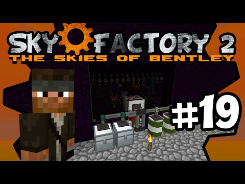 Finalized Mob Chamber - Part 2   Sky Factory 2   Ep.19