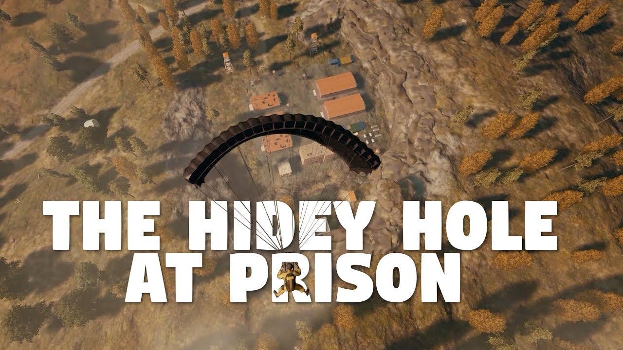 The Hidey Hole at Prison | PUBG