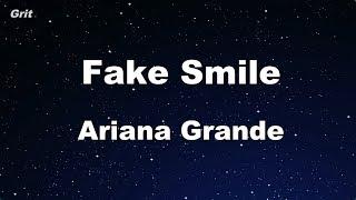 fake smile - Ariana Grande Karaoke 【No Guide Melody】 Instrumental