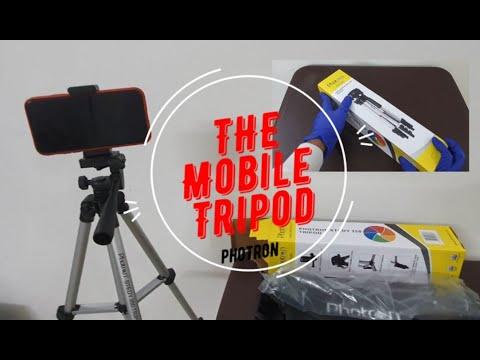 Photron STEDY 350 Tripod Mobile Holder   Smart Phone  Camera   Mobile   Unboxing   Hands on   Review