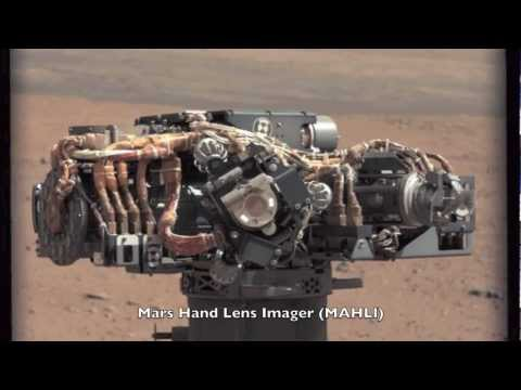 Curiosity Arm Tests Are Nearly Complete | NASA MSL Science Lab Rover HD Video