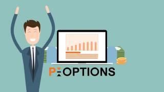 Брокер P-options - Торговля бинарными опционами