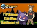 Pokemon Planet - T1 Clan Wars Livestream! #5