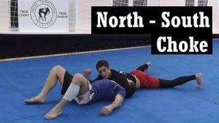 Север - Юг. Коронный прием Джеффа Монсона. [ТУД](«Боевой спорт - твой выбор» http://vk.com/combat.sport [Только уличные драки] http://vk.com/onlyfighting Удушающий прием