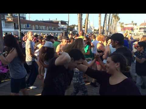 Anejo Prod.'s DJ-Dark Rum @ Salsa by the Sea (Santa Cruz) 2015
