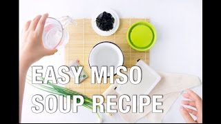 HOW TO COOK MISO SOUP ON FOOD WARMER