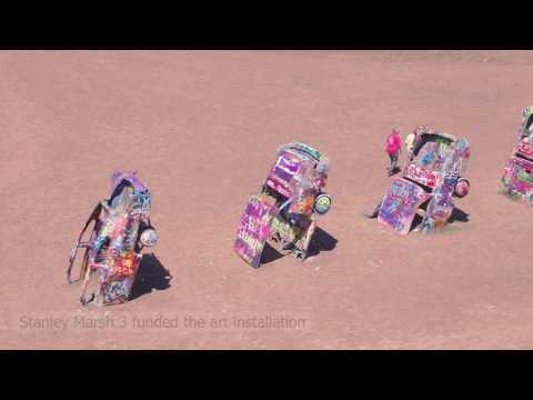 Cadillac Ranch History - Amarillo Texas