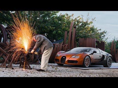 2012 Bugatti Veyron Grand Sport Bernar Venet Review Outside & Inside