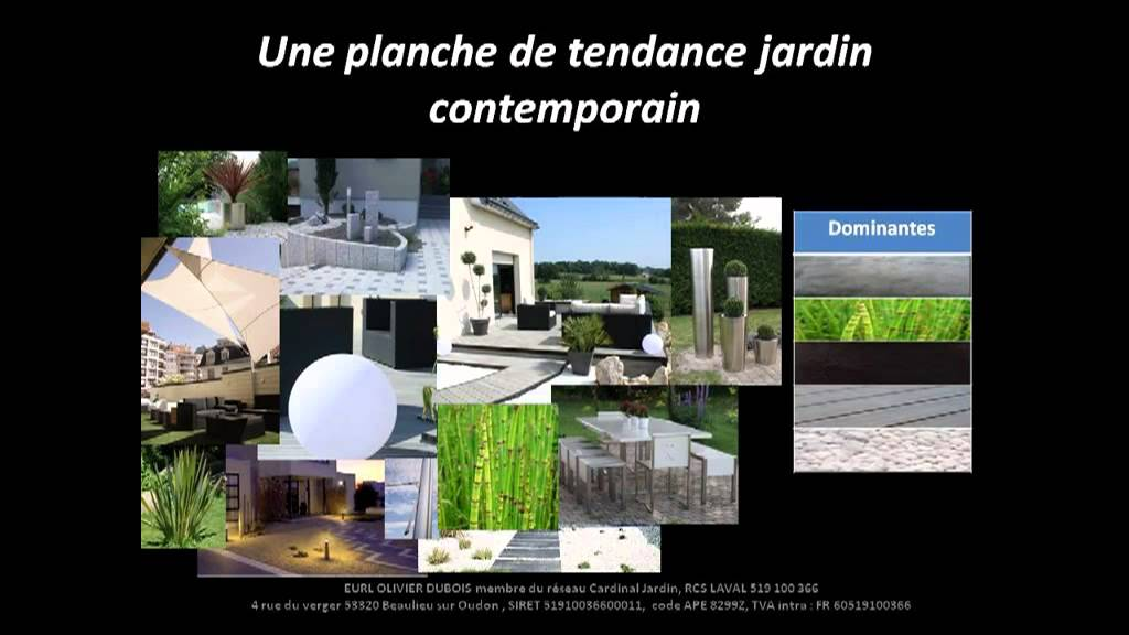 Jardin contemporain youtube for Jardin contemporain