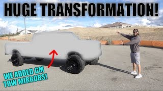 MY CUSTOM PAINTED FORD OBS f350 POWERSTROKE REVEAL!