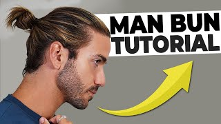 HOW TO GET A MĄN BUN 2021 | Men's Long Hairstyle Tutorial