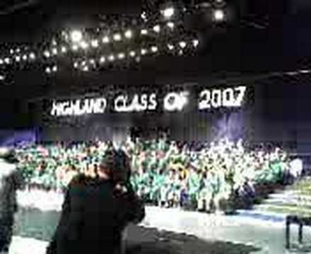 Highland High School Bakersfield Ca Graduation 2007 Youtube