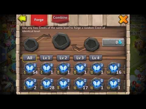 Level 3 Crest Forging - Castle Clash