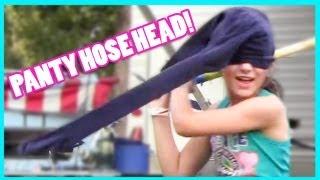 PANTYHOSE ON MY HEAD!  |  KITTIESMAMA