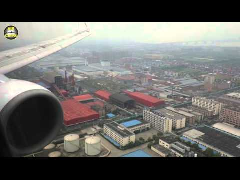 Xiamen Air Boeing 737-800 Landing in Chinese Boomtown Hangzhou [AirClips]