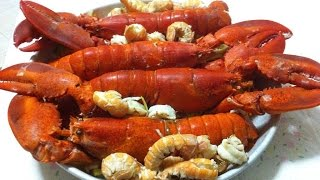 Каталана из морепродуктов с овощами