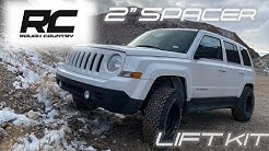 "ROUGH COUNTRY 2"" LEVELING LIFT KIT (2015 JEEP PATRIOT INSTALL)"