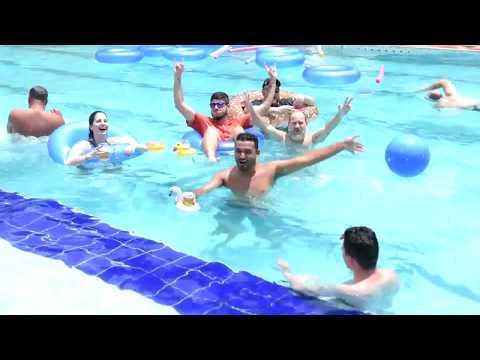 Evento Corporativo (Pool Party) no Resort Paradies em Jarinu (SP) - 13/12/2019 - banda Velotrol