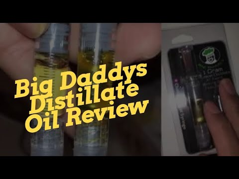 Big Daddys Distillate Oil Review - We refilled a Stiiizy pod and CCELL vape  cartridge