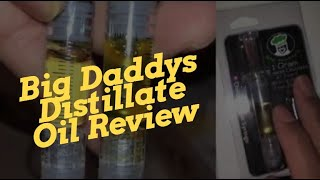 Big Daddys Distillate Oil Review - We refilled a Stiiizy pod and