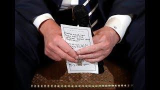 Trump vows action on gun background checks thumbnail